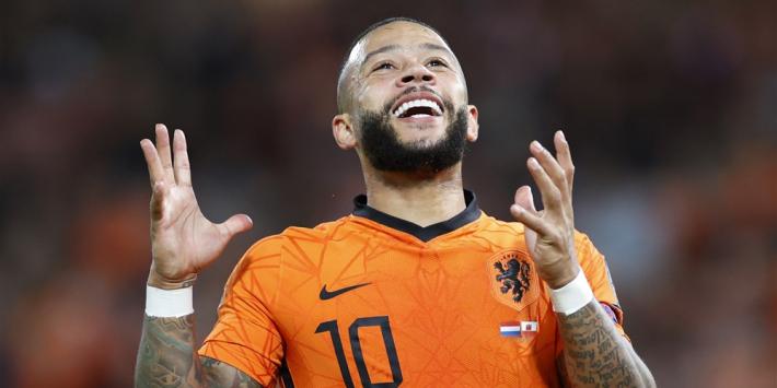 Memphis de mitrailleur: Oranje-aanvaller blijft Ronaldo voor