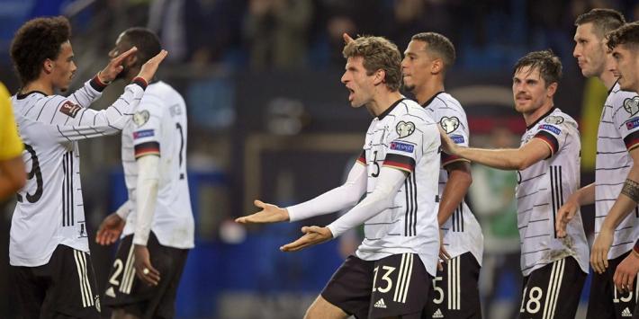 Duitsland neemt wraak en heeft WK-ticket binnen