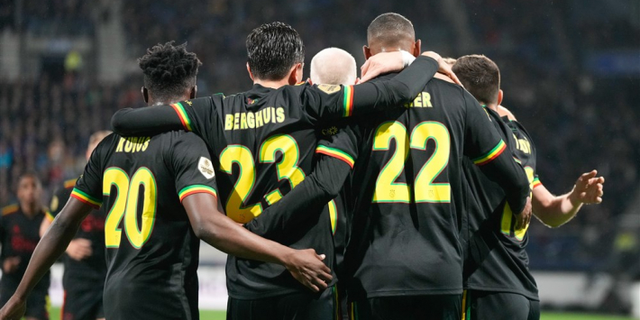 This is what the opponents of Ajax; AZ; PSV; Feyenoord and Vitesse did
