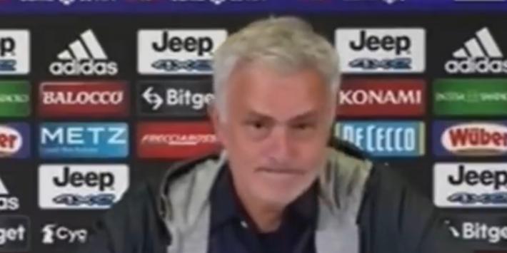 Mourinho vindt eigen talenten niks en maakt dat pijnlijk duidelijk