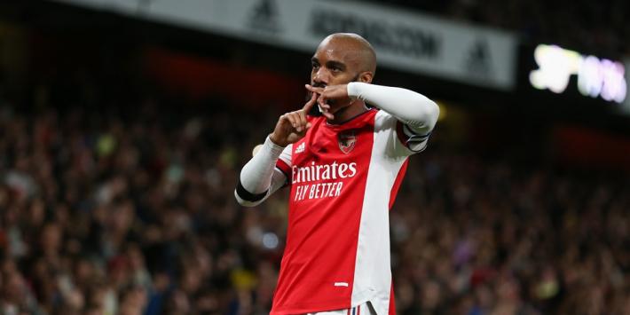 Arsenal ontsnapt met doelpunt in minuut 95 aan nederlaag