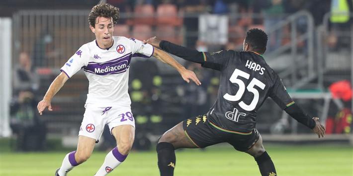 """Haps maakt indruk bij Serie A-debuut: """"Geweldige balbehandeling"""""""