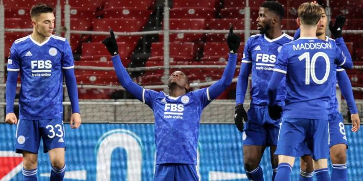 Daka redt Leicester met vier (!) goals in spektakelstuk