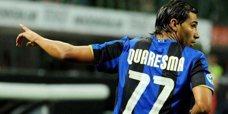 Chelsea huurt overbodige Quaresma van Inter