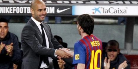 Guardiola zwaait af met lofzang op Messi