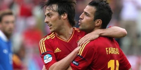 Fabregas helpt Spanje aan overwinning op Costa Rica