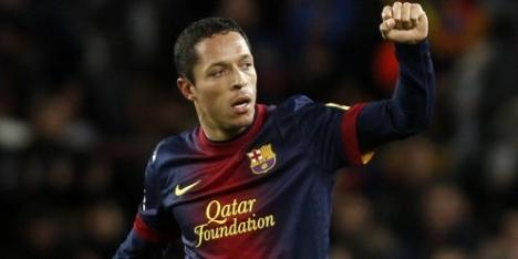 Braziliaan Adriano nog jaren bij FC Barcelona