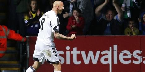 Swansea City speelt gelijk en bevestigt statistieken