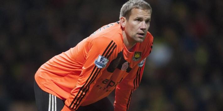 Jääskeläinen (39) seizoen langer bij West Ham