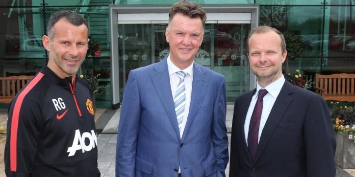 Assistent Giggs ziet 'aura van succes' bij Van Gaal
