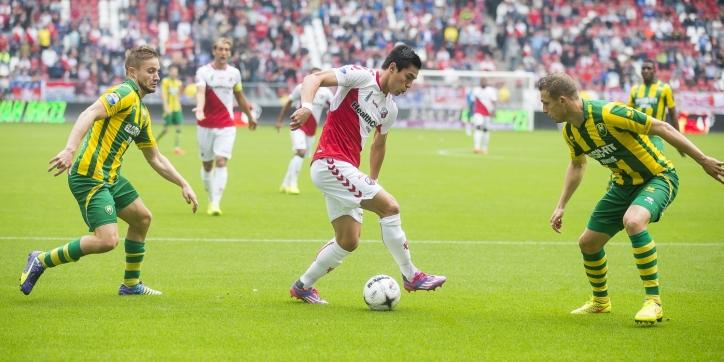 FC Utrecht tot winterstop zonder aanvaller Rubin