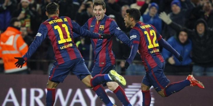 Barça met speels gemak naar Copa del Rey-finale