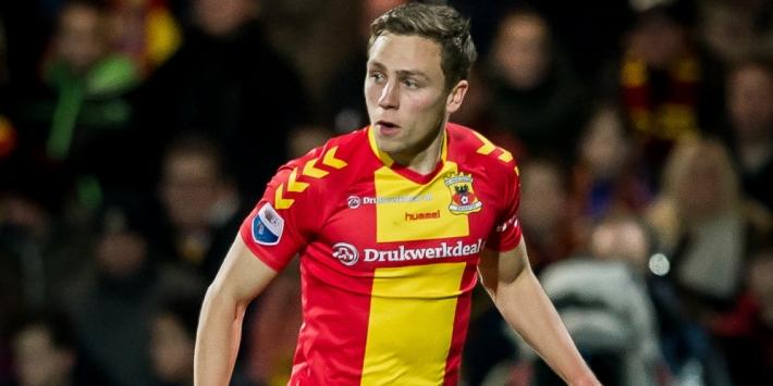 Go Ahead kampt met defensieve problemen tegen Ajax