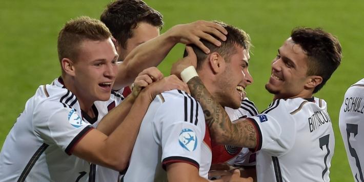 EK: invaller Fischer verliest met Denemarken van Duitsland