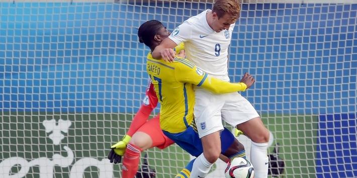 Late volley bezorgt Engeland winst op jeugd-EK