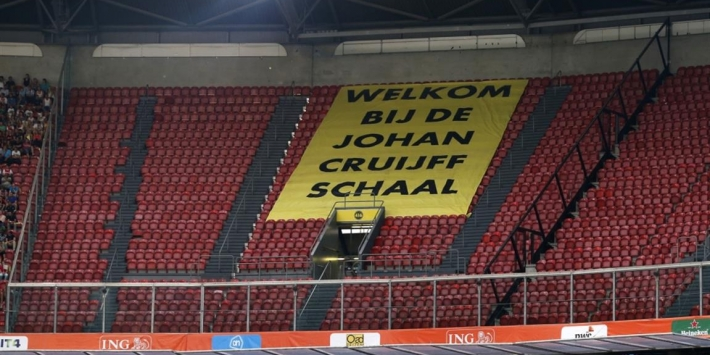 Johan Cruijff Schaal voortaan in stadion van kampioen