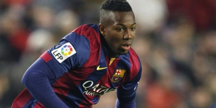 Aston Villa neemt Traoré over van FC Barcelona