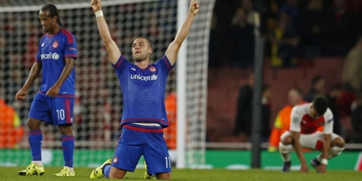 """Olympiakos wint bij Arsenal: """"Historisch en belangrijk"""""""