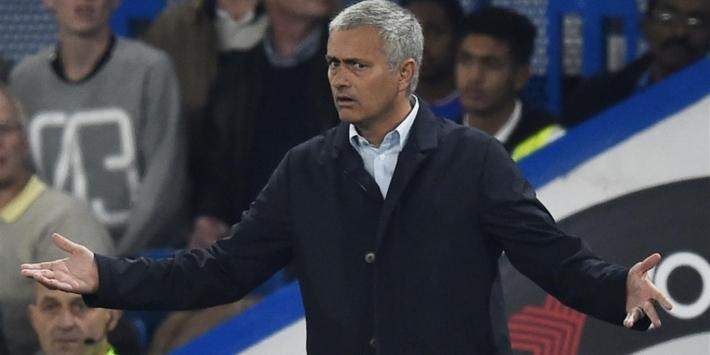 """Mourinho: """"Buitenspelgoal? Dat heb ik niet gezien"""""""