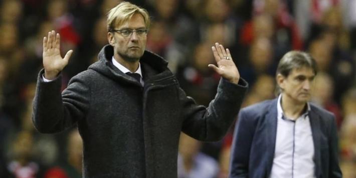 Klopp speelt ook op Anfield Road gelijk met Liverpool