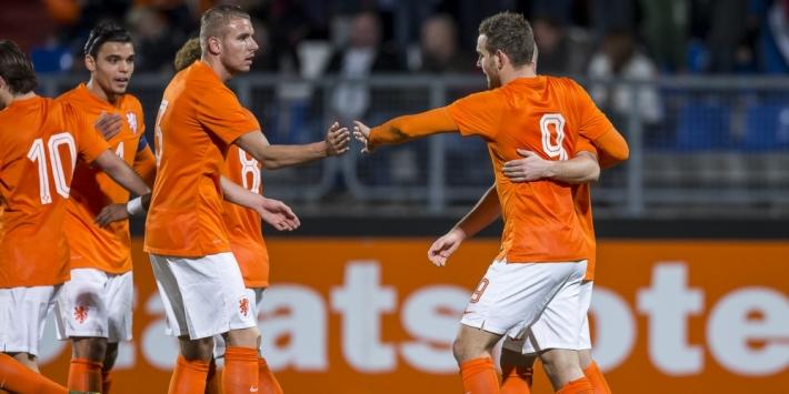 Janssen leidt Jong Oranje voorbij Wit-Rusland