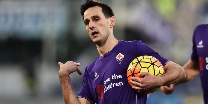 Kalinic helpt Fiorentina met twee treffers aan overwinning