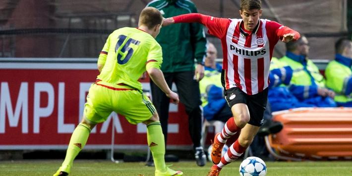 Cocu ziet toekomst in talenten Paal en Lundqvist