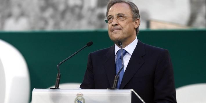 Florentino Perez opnieuw herkozen als voorzitter Real Madrid