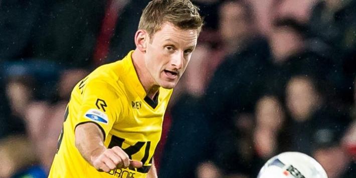 Den Bosch-speler Van Son breekt hand in Jupiler League-duel