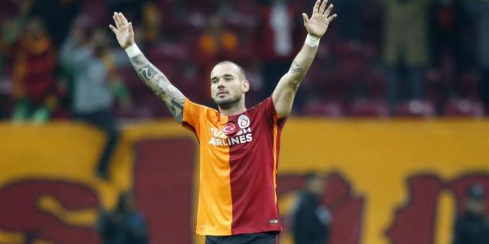Sneijder zag uitstekend PSV en is geschrokken van Galatasaray