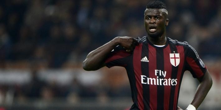 Auto-ongeluk kost Milan-aanvaller rest van seizoen