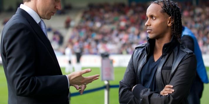 """Hersi traint mee bij Almere: """"Ik heb de kriebels"""""""