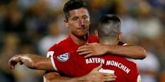 Buitenland: Lewandowski en Lacazette goud waard