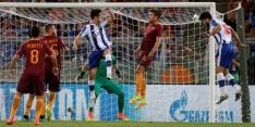 Porto wint ruim bij Roma-negental, ook Monaco door