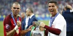 Pepe in ogen van Cristiano Ronaldo beste speler van het EK