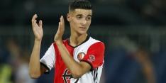 """Feyenoord-debutant El Hankouri: """"Altijd van gedroomd"""""""