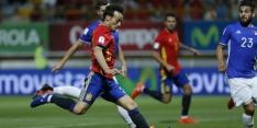 Groep G: Spanje loopt in tweede helft weg van Liechtenstein