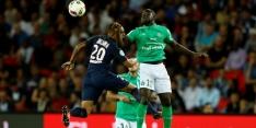 PSG geeft zege in extra tijd weg tegen Saint-Etienne