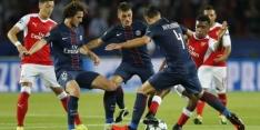 Groep A: PSG en Arsenal spelen gelijk in kraker