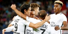 Paris SG herpakt zich met 6-0 overwinning bij Caen