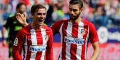 Atlético Madrid wint na bliksemstart van Gijón
