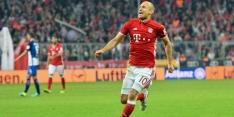 Robben reserve bij Bayern in uitwedstrijd bij Atlético