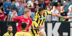Debuut valt in het water voor Vitesse-verdediger Miazga