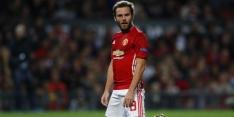Nieuwe dreun voor Mourinho; ook Mata uit roulatie