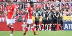Bayern morst bij basisrentree Robben eerste punten