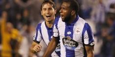Babel knalt Deportivo in blessuretijd voorbij Gijón