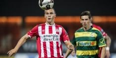 PSV laat Van Bruggen Eredivisie-ervaring opdoen bij VVV