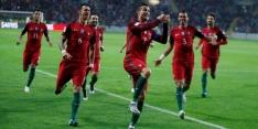 Groep B: Riante zege Portugal, drie punten Zwitserland