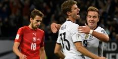 Groep C: Duitsland en Azerbeidzjan nog foutloos