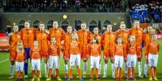 Ook vrouwen Oranje spelen oefenwedstrijd tegen België